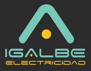 Electricidad IGALBE logo. Electricistas de Zaragoza