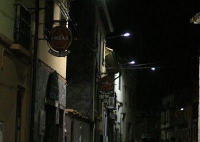 alumbrado público de San Martín (Zaragoza)