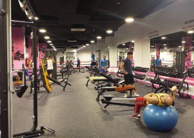 Instalaciones eléctricas en gimnasios. SmileFit Gran Casa (4)