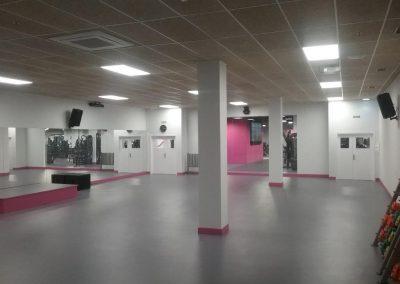 Instalaciones eléctricas en gimnasios. SmileFit Gran Casa (7)